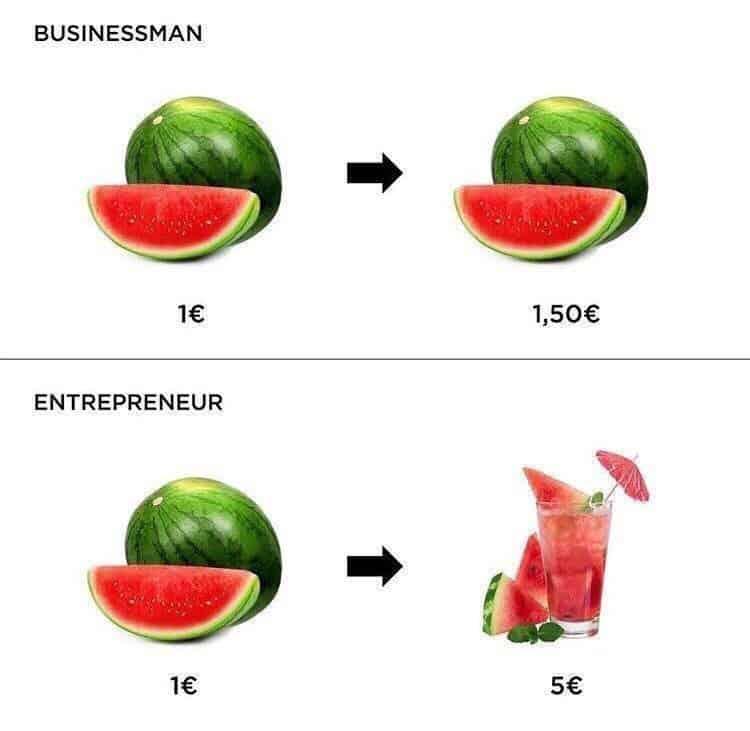 Businessman VS Entrepreneur